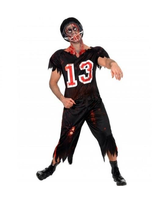 Disfraz jugador Rugby zombie adulto
