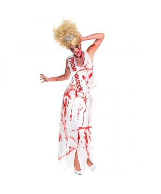 Disfraz Reina del baile zombie adulta