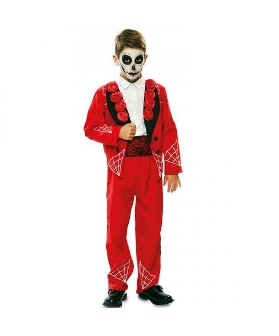 Disfraz Catrin Rojo infantil