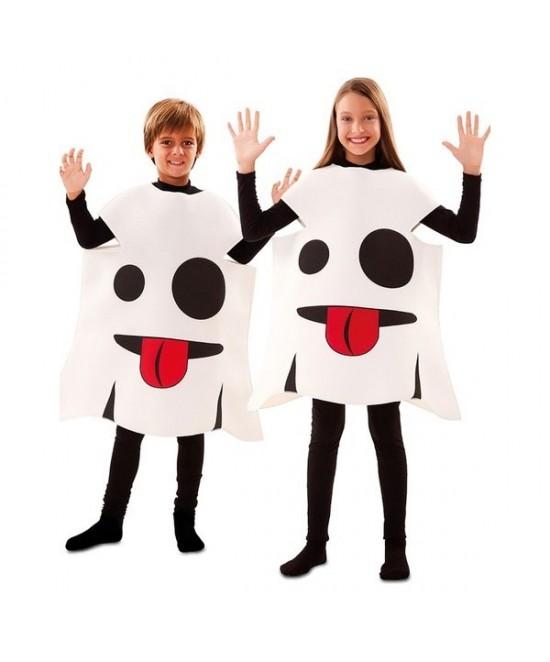 Disfraz Emoticono fantasma infantil