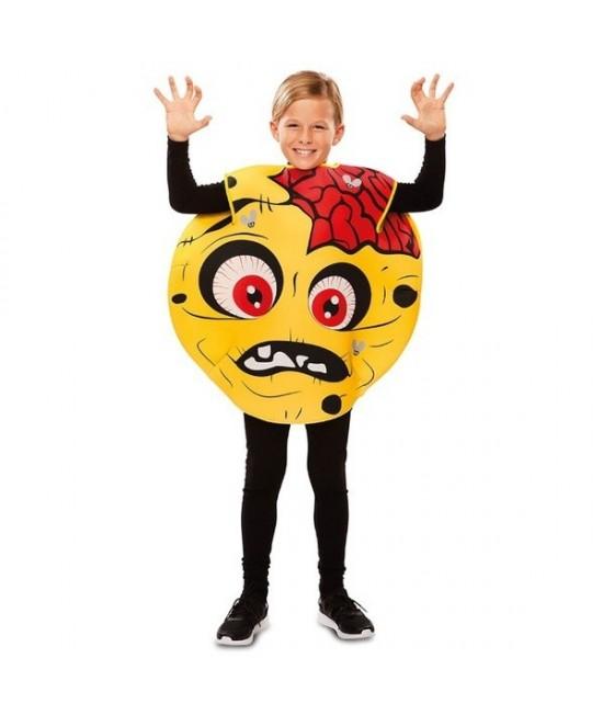 Disfraz Emoticono zombie infantil