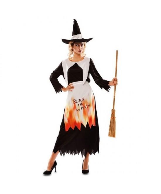 Disfraz Bruja Quemada mujer