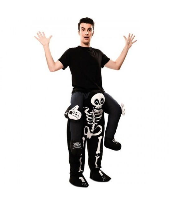 Disfraz Esqueleto UP adulto