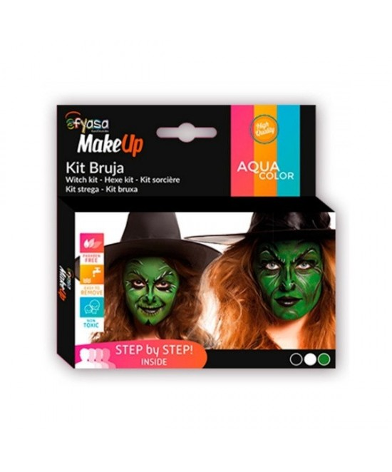 Kit Bruja maquillaje 3 colores 3x2gr