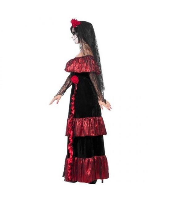 Disfraz Novia del Día de Muertos mujer