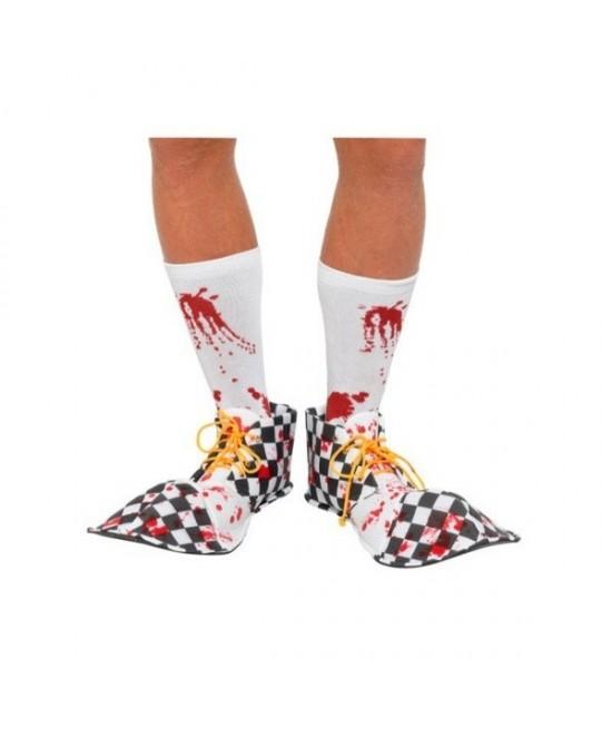 Cubrezapatos de Payaso Sangriento adulto