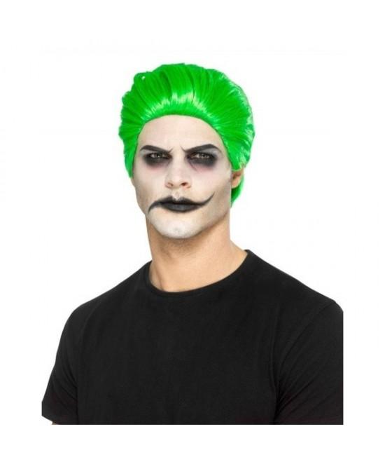Peluca de Joker Verde adulto