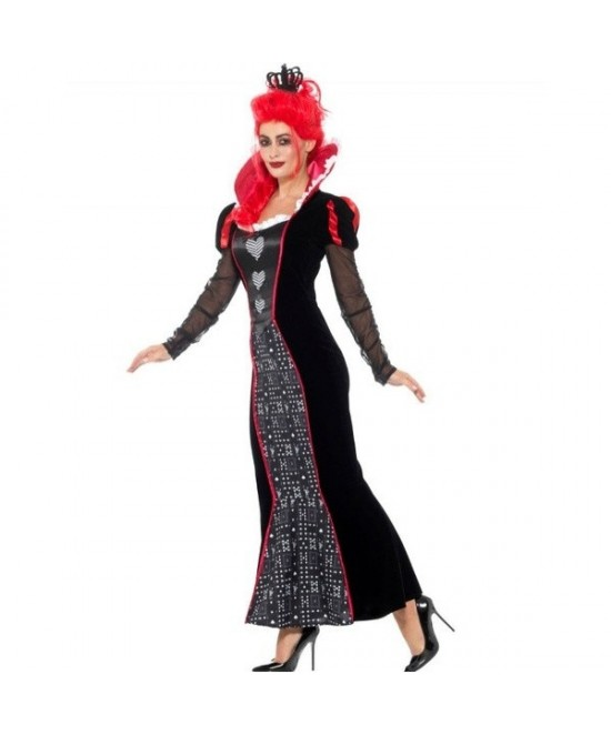 Disfraz de Reina de Corazones Oscura