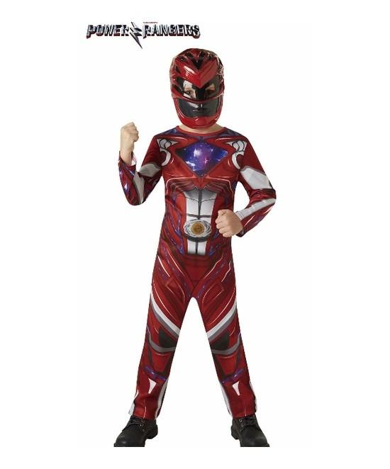 Disfraz Red Ranger Movie classic infanti