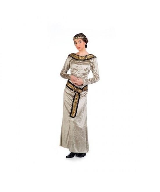 Disfraz Medieval Sabela mujer deluxe