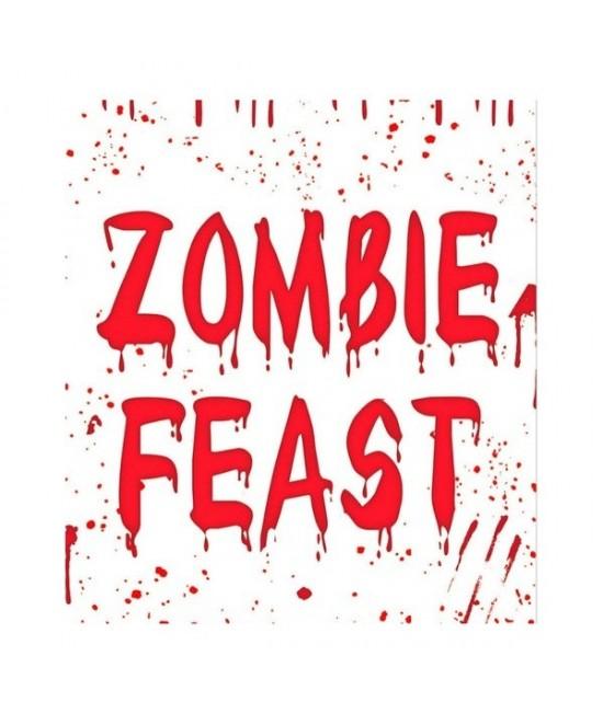 Decoración pared Zombie 75x150 cms.