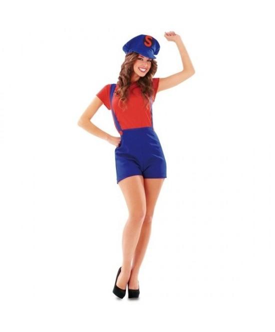 Disfraz Super Lady Roja