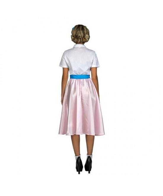 Disfraz Pink Lady Rosa/Azul para mujer