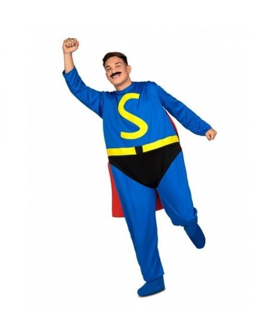 Disfraz Superhéroe Gordo adulto