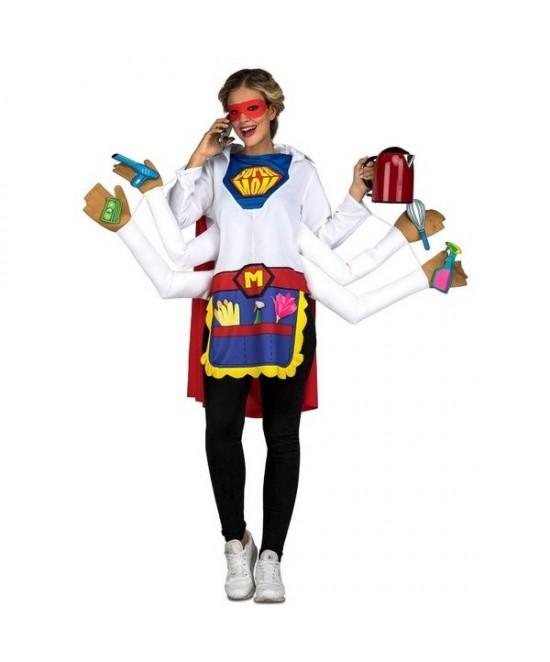 Disfraz Super Mama para mujer
