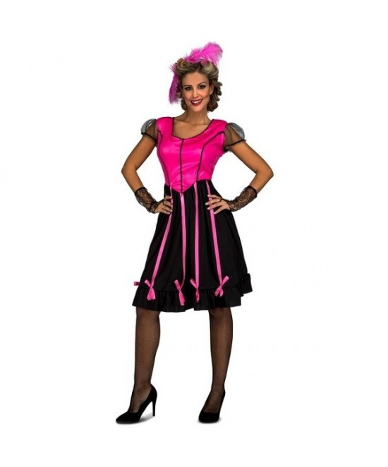 Disfraz Chica Saloon mujer