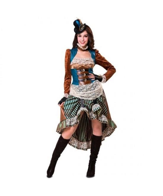 Disfraz Steampunk lady para mujer