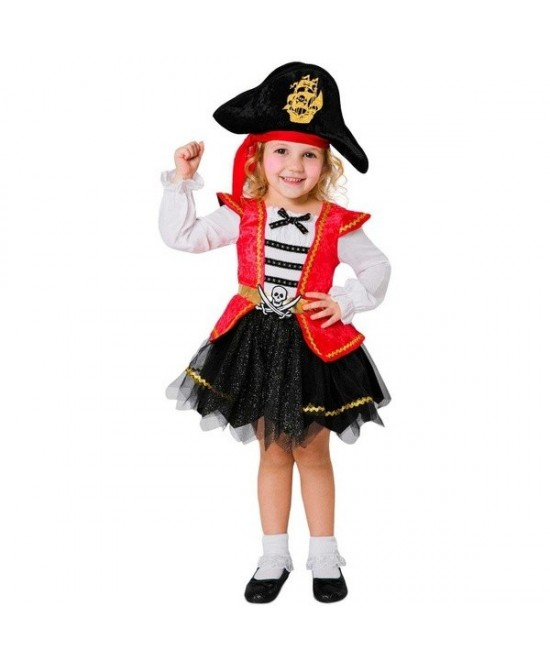 Disfraz Pirata Caribeña para bebés