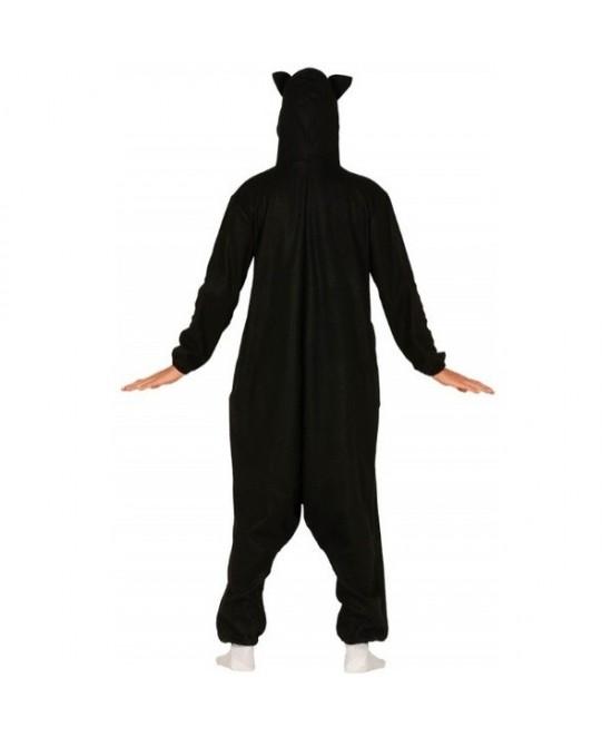 Disfraz Gato negro pijama unisex