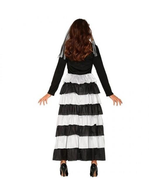 Disfraz Novia Esqueleto para mujer