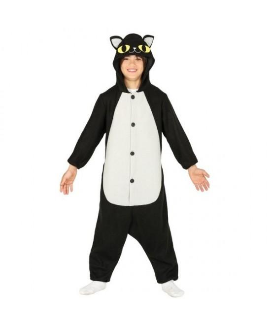 Disfraz Gato negro pijama  infantil