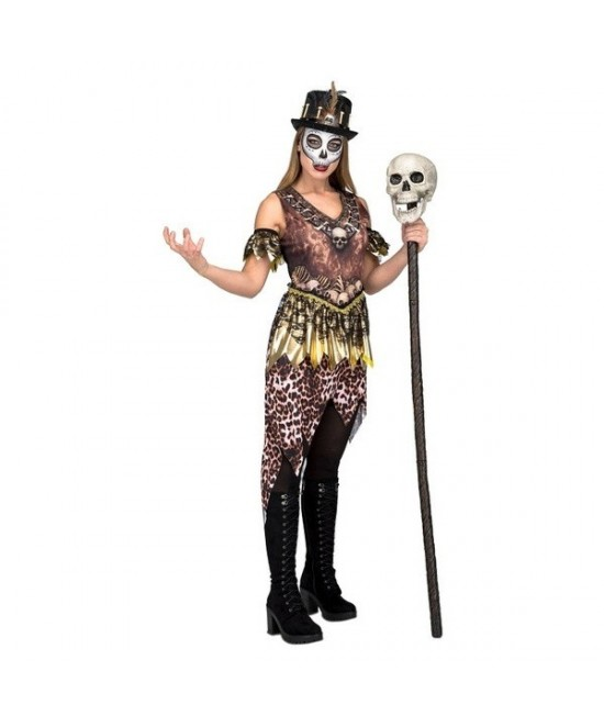 Disfraz Hechicero voodo para mujer