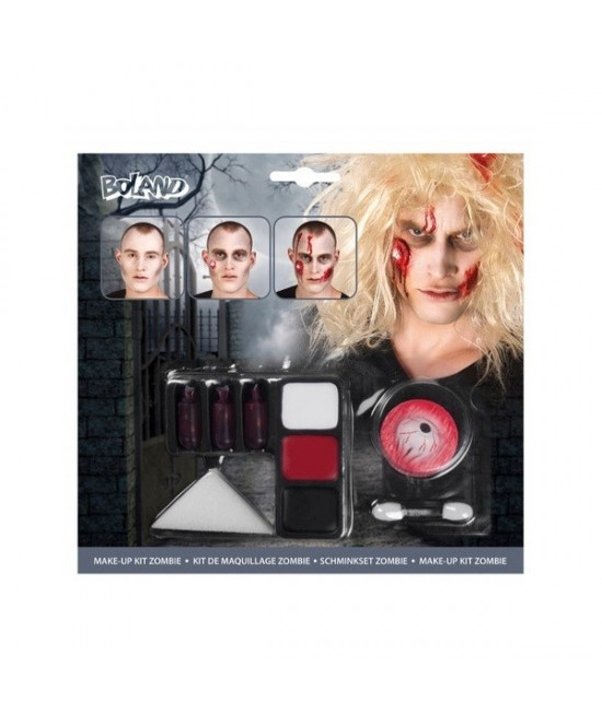 Kit Make up Zombie completo