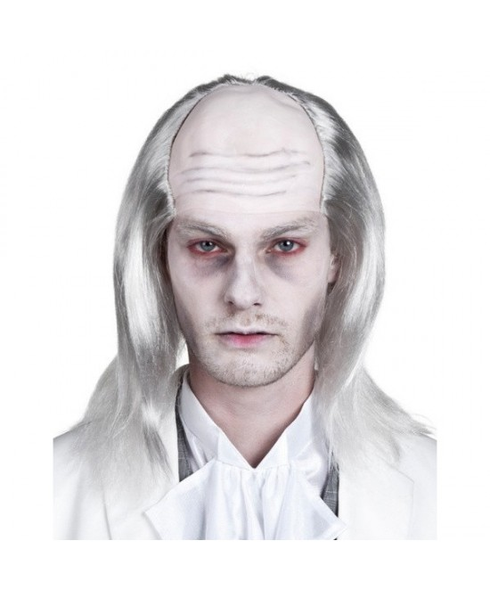 Peluca Zombie blanca