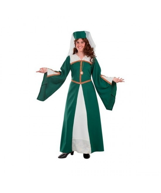 Disfraz Doña Catalina medieval mujer