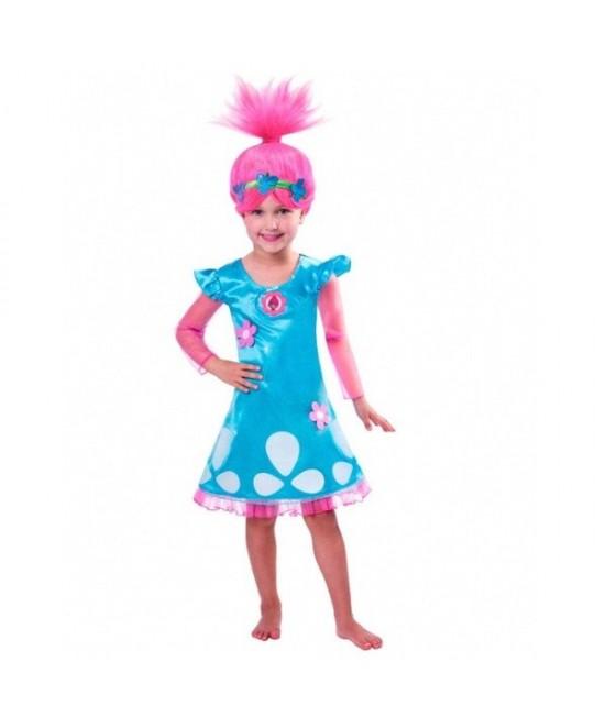 Disfraz Trolls Poppy niña