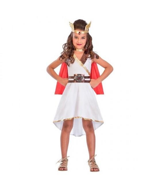 Disfraz Diosa Guerrera para niña