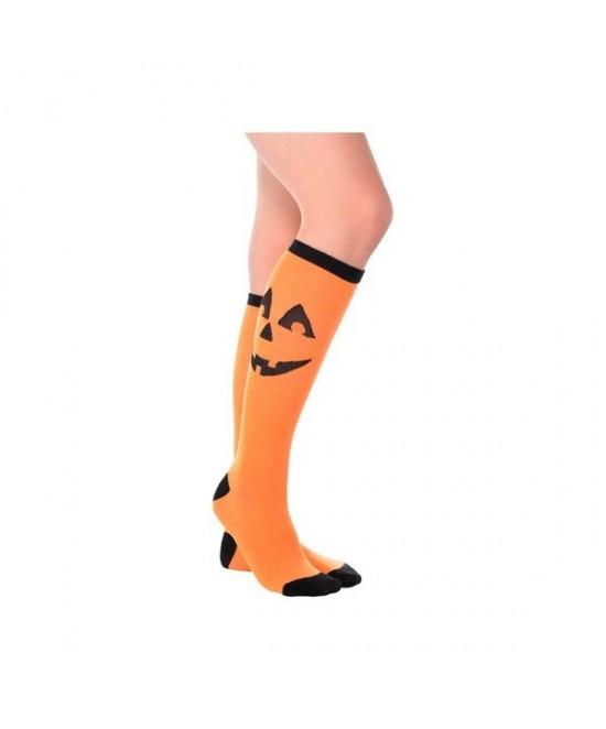Calcetines Halloween Calabazas