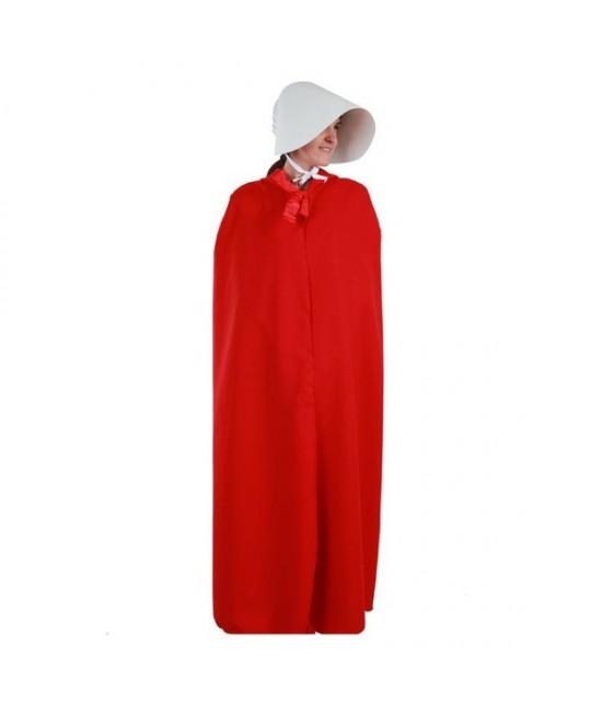 Disfraz Sirvienta capa y gorro