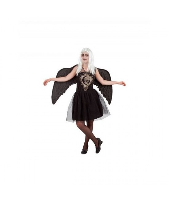Disfraz Angel negro para  mujer