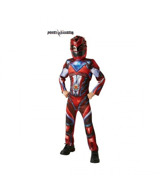 Disfraz Red Ranger Moovie Deluxe niño
