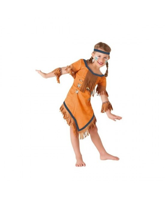 Disfraz India Cherokee para niña