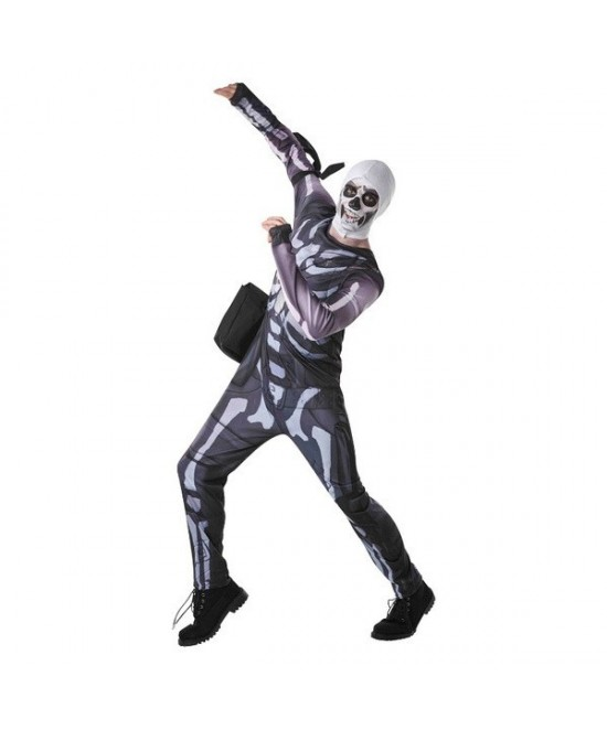 Disfraz Skull Trooper Fortnite juvenil