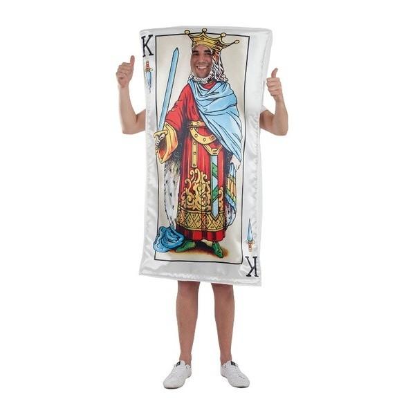 Disfraz Rey de la Baraja adulto