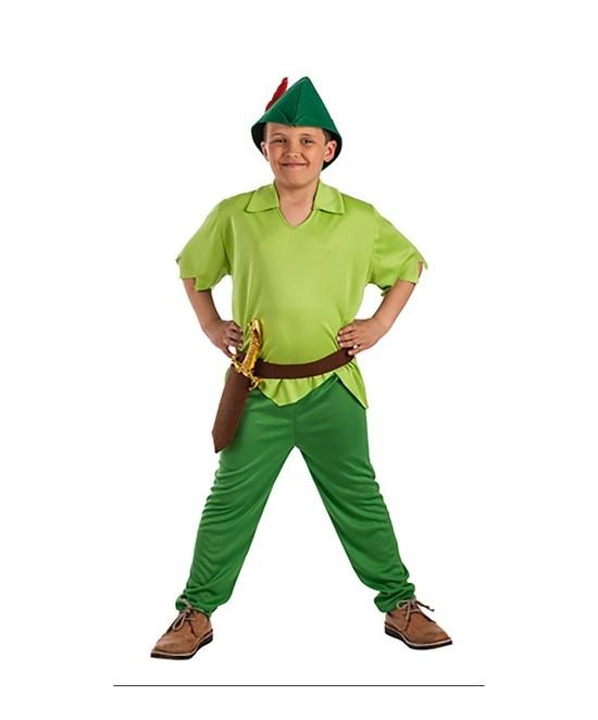 Disfraz Duende verde para niño