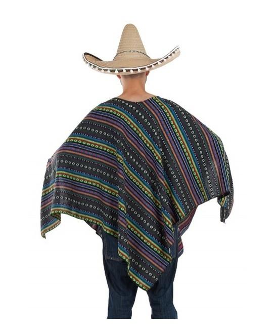 Poncho Mejicano para adulto