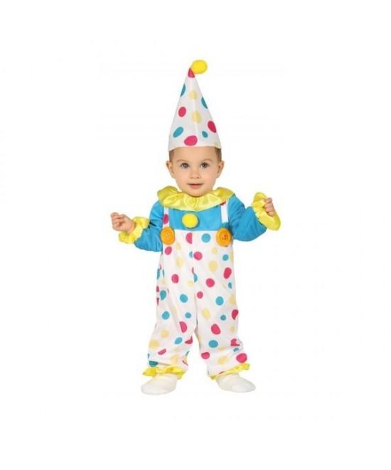 Disfraz Payaso lunares para bebés