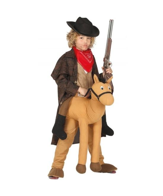 Disfraz Cowboy a caballo infantil