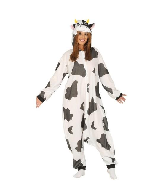 Disfraz Pijama  Vaca adulto unisex