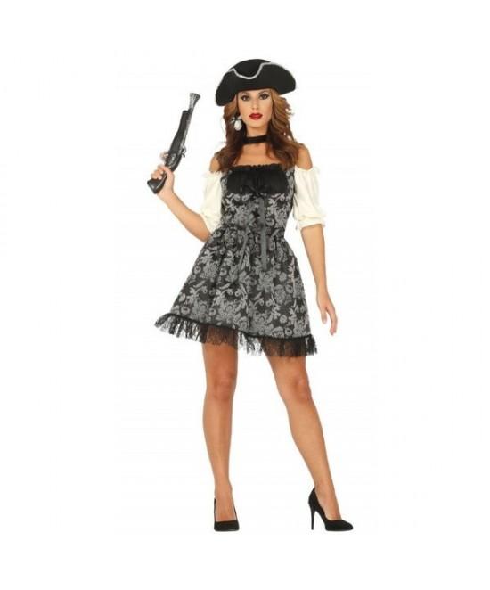 Disfraz Pirata corsaria para mujer
