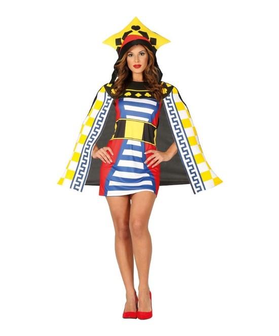 Disfraz Reina de Cartas para mujer