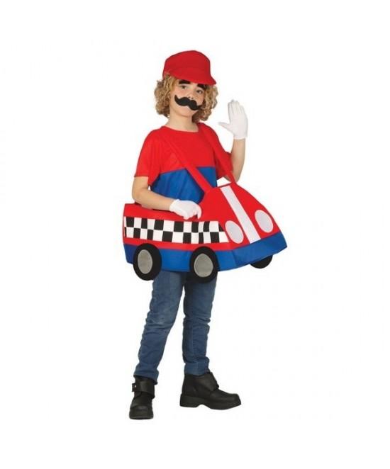 Disfraz coche loco para niño