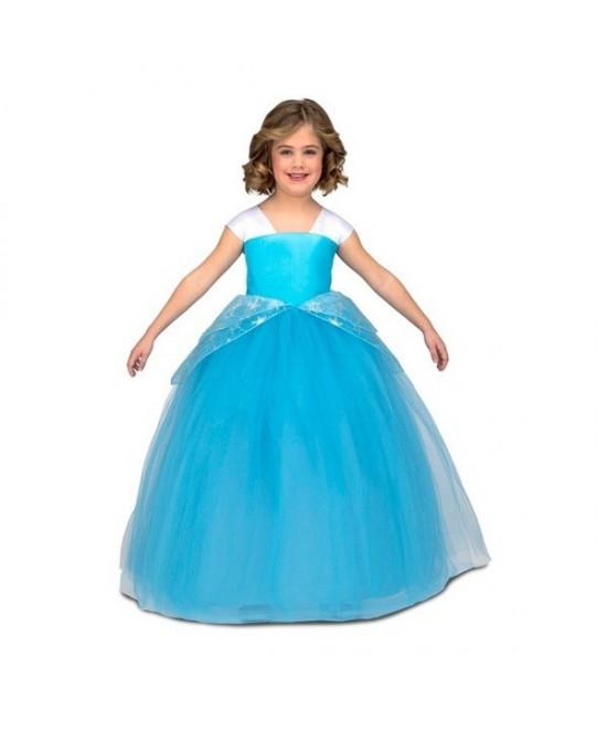 Disfraz Princesa Tutu azul infantil