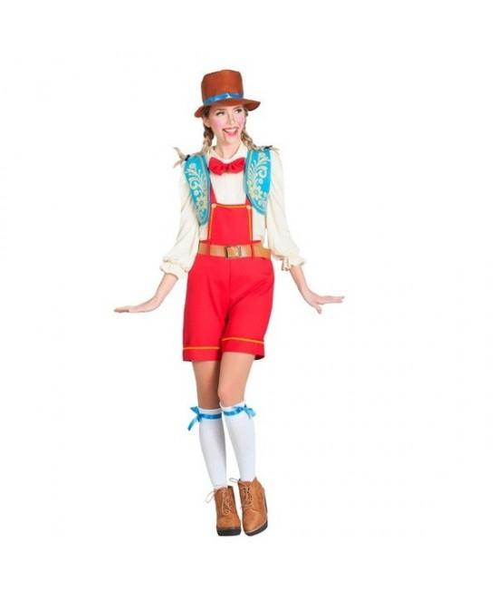 Disfraz Tirolesa para mujer