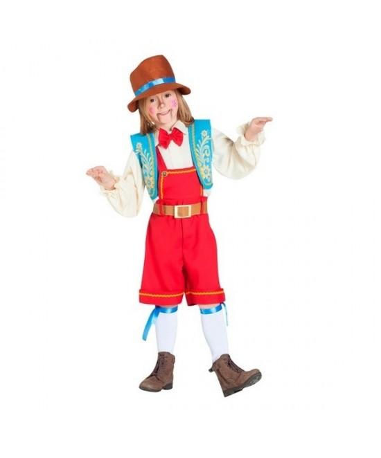 Disfraz Pinocho/tiroles infantil