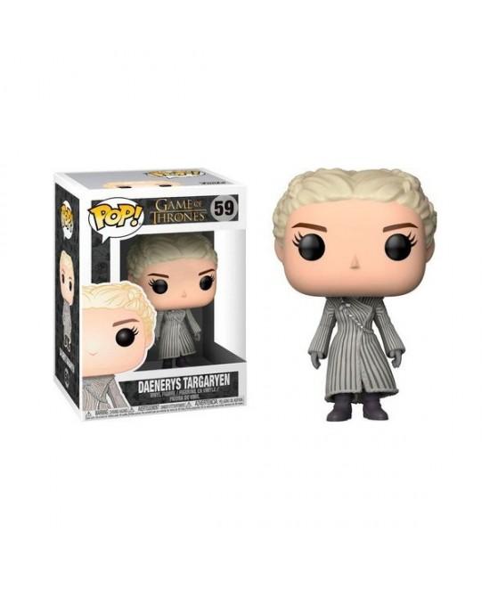POP Daenerys capa blanca juego de tronos